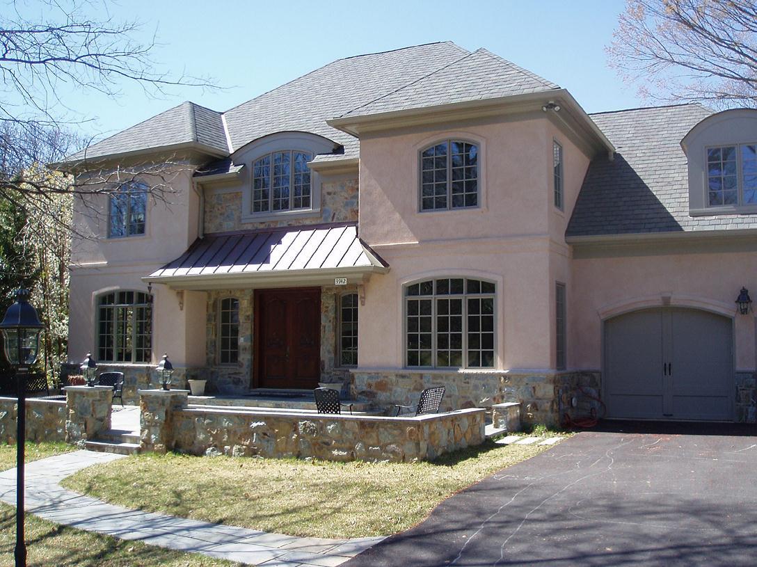 Residential exteriors defiore designs for Residential exterior design